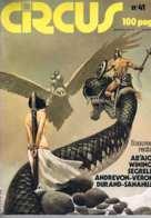 Circus - N°41 - Sep 1981 Ab'aigre Winiger Segrelles Andrevon-veronik Durand-sanahujas - Humour