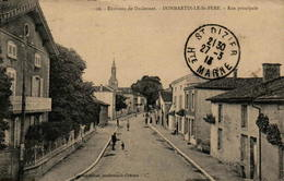52 - DOMMARTIN-le-ST-PERE - Rue Principale - Frankreich