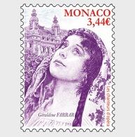 Monaco - Postfris/MNH - Operazangers, Geraldine Farrar 2019 - Monaco