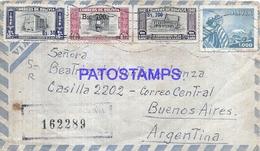 109169 BOLIVIA COCHABAMBA COVER YEAR 1962 CIRCULATED TO ARGENTINA NO POSTAL POSTCARD - Bolivie