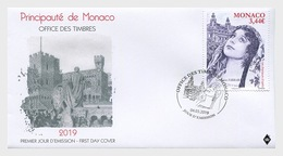 Monaco - Postfris/MNH - FDC Operazangers, Geraldine Farrar 2019 - Monaco