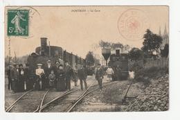 PONTMAIN - LA GARE - TRAIN - 53 - Pontmain