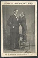 +++ CPA - Célébrité - Homme Célèbre - Souvenir Du Géant Patrick O'BRIEN ... 1904   // - Autres Célébrités