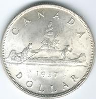 Canada - George VI - 1937 - Dollar - KM37 - Canada