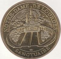 MONNAIE DE PARIS 65 LOURDES  Notre-Dame De Lourdes - Sanctuaire - 2016 - 2016
