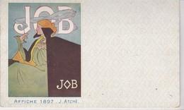 PUBLICITE COLLECTION  JOB / ATCHE 1897  /  SERIE 1910 - Publicité