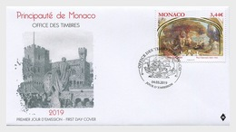 Monaco - Postfris/MNH - FDC Kunst, Les Naiades 2019 - Monaco