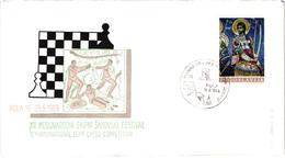 Chess Schach Echecs Ajedrez -Yugoslavia. Pula 1969 12th International Team Competition - Souvenir Cover CKM 243 - Echecs