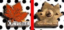 Arthus Bertrand : La Feuille D'arbre D'automne : OCTOBRE - Arthus Bertrand