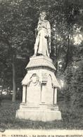 D 59 - CAMBRAI - Le Jardin Et La Statue Monstrelet - Cambrai