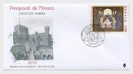 Monaco - Postfris/MNH - FDC Kunst, Les Graces Florentines 2019 - Monaco