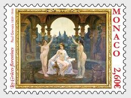 Monaco - Postfris/MNH - Kunst, Les Graces Florentines 2019 - Monaco