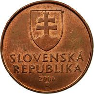 Monnaie, Slovaquie, 50 Halierov, 2006, TTB, Copper Plated Steel, KM:35 - Slovénie