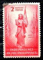 PHILIPPINES. N°320 Oblitéré De 1946. Indépendance. - Philippines