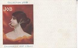 PUBLICITE COLLECTION  JOB /  MAURICE 1897 /  SERIE 1910 - Publicité