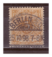 DR: 1898, Nr. 45ca, Gestempelt - Oblitérés