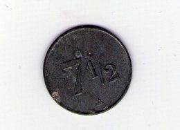 Charcuterie Barras. 7 C 1/2. Saint Marcel De Félines. Loire - Monetary / Of Necessity