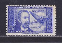 ESPAGNE AERIENS N°  227 ** MNH Neuf Sans Charnière, Rousseurs (L1243) Journée Du Timbre - 1944 - Airmail