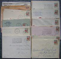 France Lot Vrac Coq 1331 - 1331A De Décaris 85 Plis, 25 Grs TP Lavé Et  Fragments R Pour étude - Quelques 1331 - Timbres