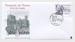 Monaco - Postfris/MNH - FDC 100 Jaar Legertroepen 2019 - Monaco