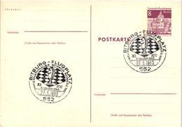 Chess Schach Echecs Ajedrez -West Germany. Bitburg 1969 - 11th International Chess Congress - Postcard CKM 246 - Echecs