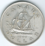 Canada - George VI - 1949 - 1 Dollar - Accession Of Newfoundland - KM47 - Canada