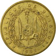Monnaie, Djibouti, 10 Francs, 1983, Paris, TTB, Aluminum-Bronze, KM:23 - Djibouti