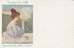 PUBLICITE COLLECTION  JOB / LEANDRE 1900 /  SERIE 1910 - Publicité