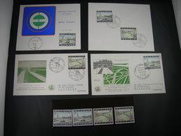 "BELG.1969 1514 & 1515 LOT FDC's & Maxicard & Timbres** : "" Schelderoute & Autoroute "" - 1961-70"