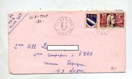 Lettre Rural Baupte Sur Academie Sciences - Marcophilie (Lettres)