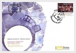 Montenegro - Postfris/MNH - FDC Kunst In Montenegro 2019 - Montenegro