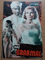 """Debra Paget Im FRITZ LANG FILM """"Das Indische Grabmal"""" Mit Paul Hubschmid, Claus Holm ... NFP-Filmprogramm Von 1959 /a82 - Merchandising"""