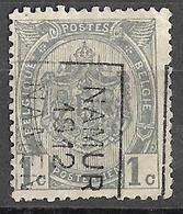 8S-242: N° 1859  A - Tab : NAMUR 1912 NAMEN - Roller Precancels 1910-19