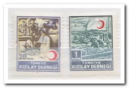 Turkije 1953, Postfris MNH, Red Crescent - 1921-... Republiek