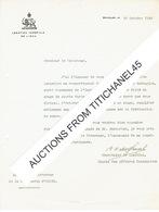 BRUXELLES - Lettre De 1939 - LEGATION IMPERIALE DE L'IRAN - Belgium