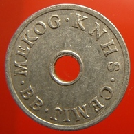 KB285-2 - MEKOG KNHS CEMIJ BB - IJmuiden - A 22.0mm - Koffie Machine Penning - Coffee Machine Token - Professionnels/De Société