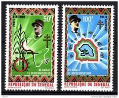 Sénégal P.A. N° 98 / 99 XX De Gaulle Le Décolonisateur La Paire TB - Senegal (1960-...)