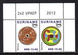 Suriname 2348/49 Et Bloc 117 UPAEP - Emissions Communes