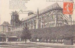 Cher        330        Les Monuments De Bourges Par Jean Rameau.Abside De La Cathédrale - Bourges