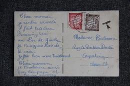 Carte Postale Taxée De CAUTERETS ( 65 ) Vers CAPESTANG (34). - Lettres Taxées