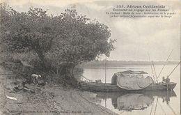 Afrique Occidentale, Sénégal: Comment On Voyage Sur Les Fleuves - Collection Fortier, Carte N° 325 Non Circulée - Senegal