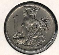 Tschechoslowakei, 1 Koruna 1923, UNC - Tschechoslowakei