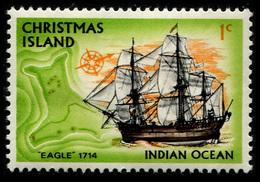 1972 Christmas Island - Christmas Island