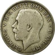 Monnaie, Grande-Bretagne, George V, Florin, Two Shillings, 1921, TB, Argent - J. 1 Florin / 2 Shillings