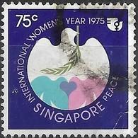 SINGAPORE 1975 International Women's Year - 75c - Peace FU - Singapour (1959-...)