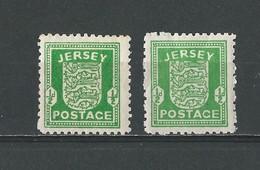 Jersey, Occupation Allemande: 1** (Papier Blanc Et Gris) - Jersey
