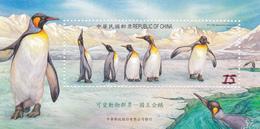 Taiwan Antarctic Penguins, Miniature Sheet, Mint Never Hinged - Penguins