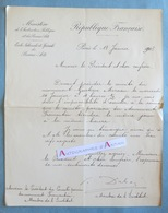 L.A.S 1903 Paul DUBOIS Sculpteur Peintre Gustave Moreau Fromentin Né Nogent-sur-Seine Ecole Beaux Arts Lettre Autographe - Autographes