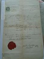 ZA185.18 Old Document Slovakia  Garamolaszka Valaszka  Valaská - 1872 - Josepha KOMÁR -  Kralik - Josephus Liegerhoffer - Naissance & Baptême