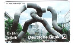 Germany - O 542 03.95 - 125 Years Deutsche Bank In Berlin - Voll / Mint - Allemagne